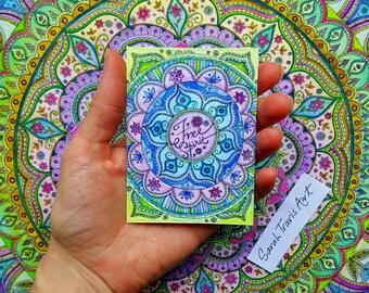 Mini Mandala Print - ACEO size