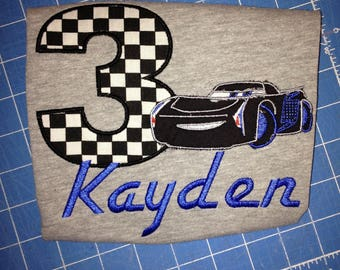 Cars Birthday shirt