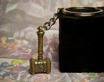 Doomhammer Legion Keychaine-Pendant / World of Warcraft Jewelry / Thrall's Hammer Pendant