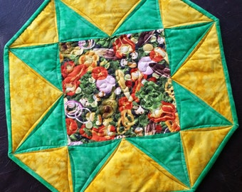 The One Little Star Quilted Table Topper