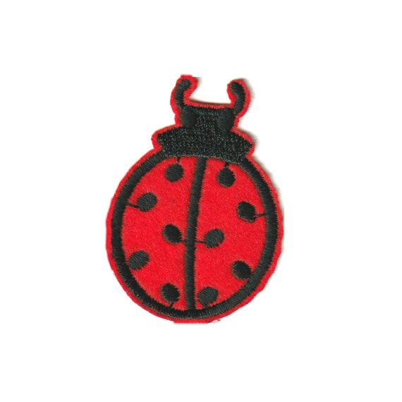 """Patch fusible trend pattern """"Ladybug"""""""