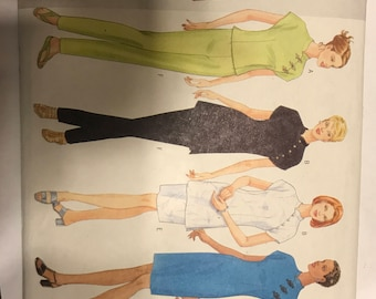 Butterick pattern for several Asian inspired garments