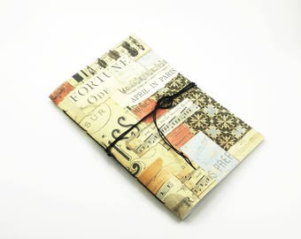 Music Paper Notebook, Handbound Staff Paper Journal, Music Writing Journal, Song Writer or Musician Gift