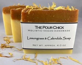 Lemongrass & Calendula Soap