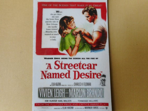 Magnet A Streetcar Named Desire movie poster