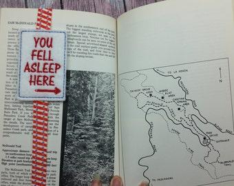 You Fell Asleep Here Planner Band, book mark