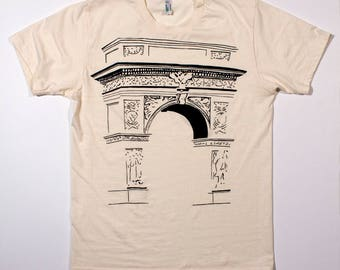 Schatten des Washington Square Arch shirt