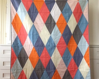 Patchwork baby, toddler quilt