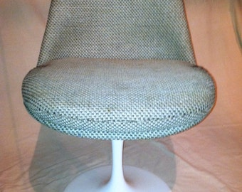 Saarinen Tulip dining chairs fully upholstered shell (set of 4)