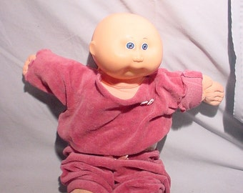 Cabbage Patch Baby Doll 1982 With Clothes Diapers Cutie