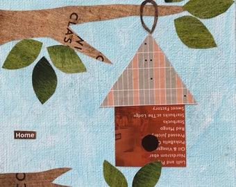 SuzAnne's Make & Take Workshop - The birdhouse