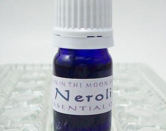 Pure Neroli Essential Oil - Orange Blossom Essence - Therapuetic Grade Citrus Aurantium