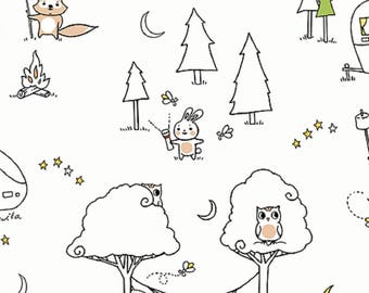 CAMP S'MORE by Ink & Arrow for Quilting Treasures - bty - item #25947-Z