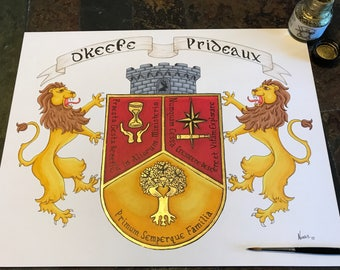 Custom Family crest design consultation