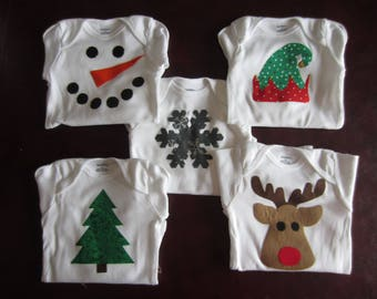 Winter Wonderland Holiday Onesies