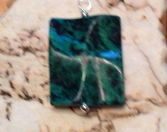 Lovely Chrysocolla Pendant