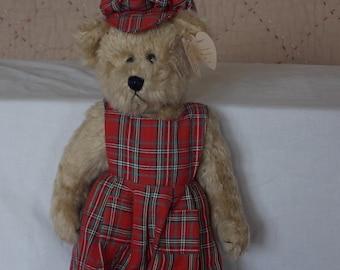 """1993 Ty Attic Treasures Bear """"Scotch"""""""