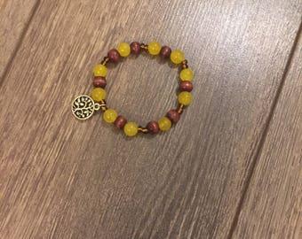 Matching mala bracelet
