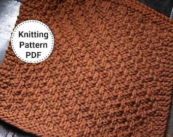 Knitting Pattern | Dishcloth Pattern| Knitted Dishcloth | Jaywalking West