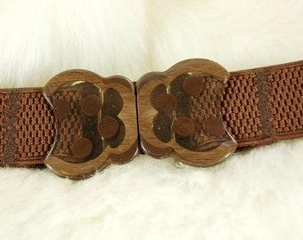 Vintage Brown Belt Buckle