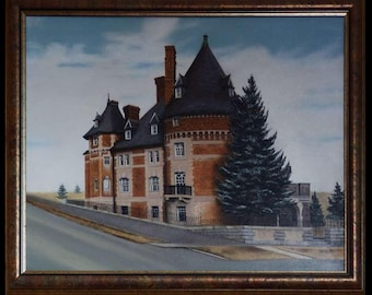 Clark Chateau Butte, MT - also known as Art Chateau - oil painting by Karen Lucky