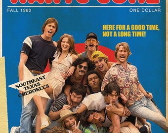 Everybody Wants Some!! Movie Poster - 11x17""