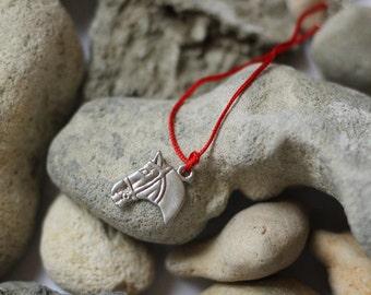 Horse Bracelet Horse Charm Bracelet Horse Dainty Bracelet Gift for Horse Lover Horse Friendship Bracelets Pony head Rustic Jewelry Western
