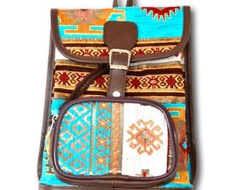 Blue bag, Small Boho bag, Tribal bag, Hippie bag, Gypsy bag, Bag gift, Music festival bag, Hipster bag, Vegan bag, boho bag