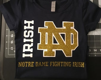 Girls Notre Dame Fighting Irish t-shirt