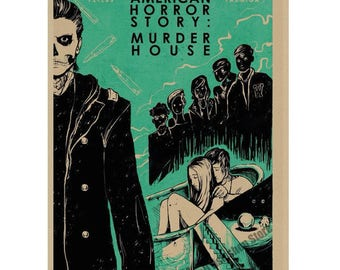 Horror Story  Vintage posters wall decoration gift 2018 new
