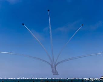 Chicago Photography | Chicago Air and Water Show | Airshow | Fine art photography | Wall art | Home decor | Art print | Gift | Color