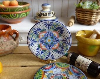 Talavera Mexican Dollhouse Plate
