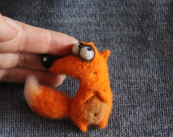 brooch fox