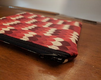 Feathertips Zipper Pouch