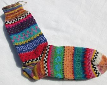Colorful socks OLE size 42 / 43