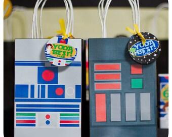 Star Wars; Star Wars Gift Bags; Star Wars Birthday; Star Wars decor; Star Wars Party; Star Wars Party Decor; Star Wars Birthday Party Decor