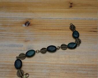 natural gemstones bracelet