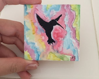 HummingBird Tiny Art