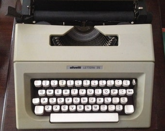25 letter typewriter