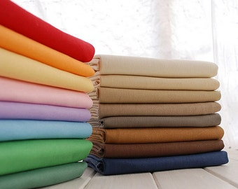 "11oz Medium weight canvas, Solid cotton canvas fabric, great for sofa table cover cushion, 43"" wide- 1/2 yard"