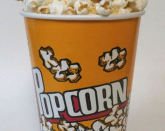 Fake food bucket of popcorn ships free in the us