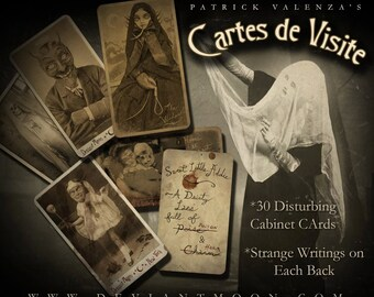 Cartes de Visite - 30 DiSTuRBinG Cabinet Cards