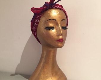 Vintage Mannequin/ Mannequin head / hat stand / jewellery stand / Wig