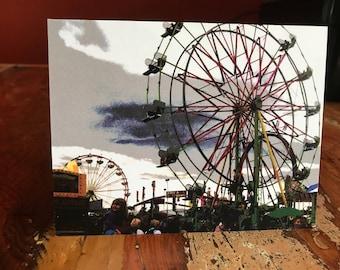 Ferris Wheel Note Card