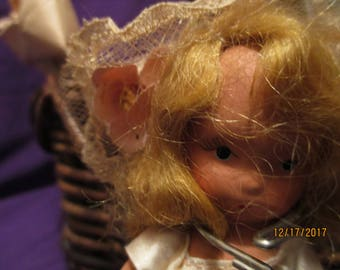 SALE/Tiza storybook doll a miniature doll one of the seven sisters