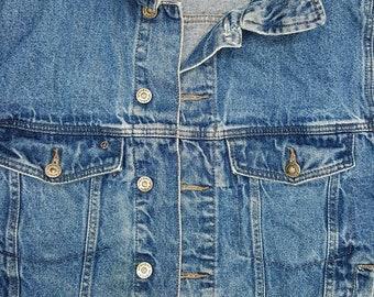Vintage Denim Jacket,Small Mens/Medium Womens,Wrangler Vintage