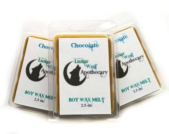 Chocolate Wax Melt / Clamshell Wax Melt / Wax Shot Melt / Soy Wax Melt / Stocking Stuffers / Christmas Gift / Gift for Her / Gift