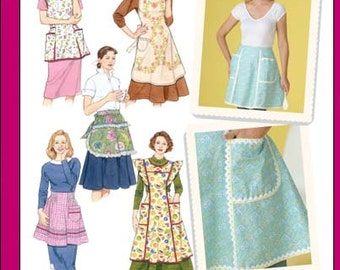 Simplicity Pattern 4282 Misses Aprons