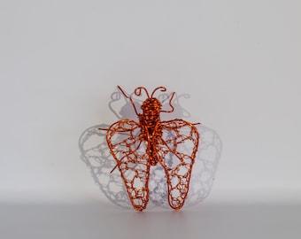 Ladybug, Insect Decor, Copper Wire Art, Wire Sculpture, Spring Home Decor, Sculpture Decoration, Decoration Gift, Boho Decor, Kitchen Decor