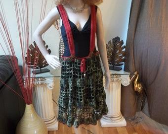 Crochet Overall Skirt